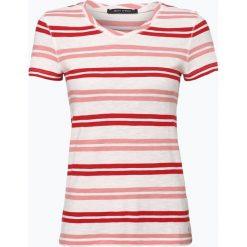 Marc O'Polo - T-shirt damski, czerwony. Czerwone t-shirty damskie Marc O'Polo, m, z materiału, z okrągłym kołnierzem. Za 149,95 zł.
