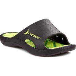 Sandały chłopięce: Klapki RIDER – Rider Bay IV Kids 81486 Black/Green 22629