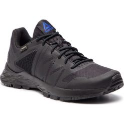 Buty Reebok - Astroride Trail Gtx GORE-TEX CN6235 Black/Crushed Cobalt. Szare buty do biegania męskie marki Reebok, l, z dzianiny, z okrągłym kołnierzem. Za 399,00 zł.