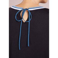 BOSS CASUAL IDANNA Sweter open blue. Niebieskie swetry klasyczne damskie BOSS Casual, l, z bawełny. Za 499,00 zł.