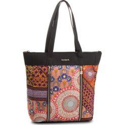 Torebka DESIGUAL - 18WAXF90 3000. Brązowe torebki klasyczne damskie marki Desigual, z materiału, duże. W wyprzedaży za 249,00 zł.