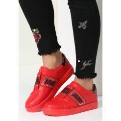 Czerwone Buty Sportowe Move Around. Szare buty sportowe damskie marki other, z materiału. Za 79,99 zł.