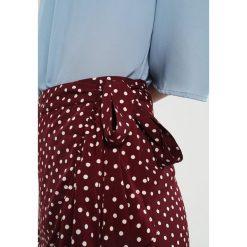 Spódniczki trapezowe: Vila VIMICKA WRAP SKIRT Spódnica trapezowa fig/white