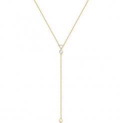 Pozłacany naszyjnik - (D)5 cm. Żółte naszyjniki damskie marki METROPOLITAN, pozłacane. W wyprzedaży za 109,95 zł.