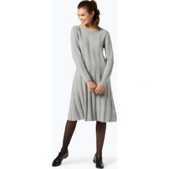 Pepe Jeans - Sukienka damska – Evie, szary. Szare sukienki dzianinowe marki Pepe Jeans, m, z okrągłym kołnierzem. Za 439,95 zł.
