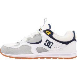 Trampki męskie: DC Shoes KALIS LITE Buty skejtowe white/grey/yellow