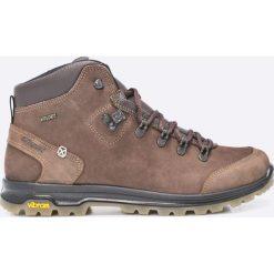 Grisport - Buty. Szare buty trekkingowe męskie Grisport, na zimę, z materiału, na sznurówki, outdoorowe. Za 439,90 zł.