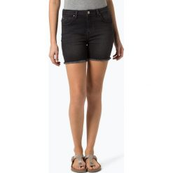 Lee - Damskie spodenki jeansowe – Boyfriend Short, czarny. Czarne szorty jeansowe damskie marki Lee, klasyczne. Za 259,95 zł.