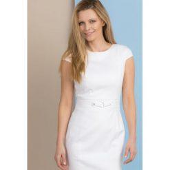 Sukienki: Sukienka z subtelnym wzorem