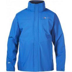 Kurtki trekkingowe męskie: Berghaus Kurtka Outdoorowa Hillwalker Shell Jkt Am Blue/Blue M