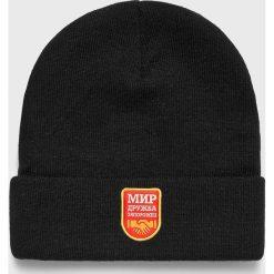 True Spin - Czapka. Czarne czapki zimowe męskie True Spin. W wyprzedaży za 39,90 zł.