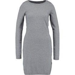 Sukienki: Vero Moda VMKARIS DIXON BOATNECK DRESS BOO Sukienka dzianinowa medium grey melange