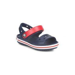 Sandały Dziecko  Crocs  CROCBAND SANDAL. Niebieskie sandały chłopięce Crocs. Za 103,20 zł.