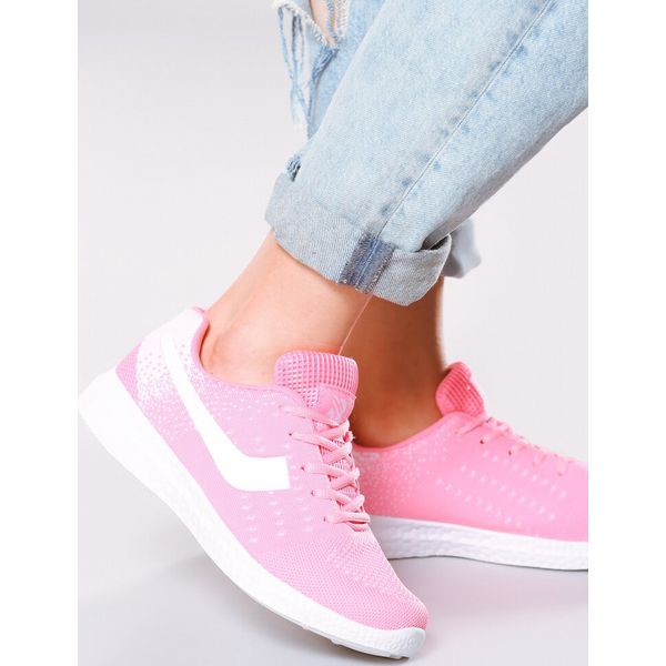 Różowe Buty Sportowe Speed Pinky