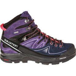 Buty trekkingowe damskie: Salomon Buty damskie X Alp Mid Ltr GTX W Black/Nightshade Grey/Coral Punch r. 41 1/3 (391947)