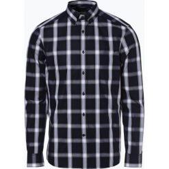 Calvin Klein - Koszula męska, niebieski. Niebieskie koszule męskie na spinki Calvin Klein, l, w kratkę, z klasycznym kołnierzykiem. Za 349,95 zł.
