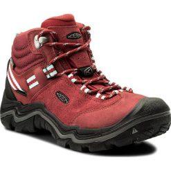 Trekkingi KEEN -  Wanderer Mid Wp 1014765 Chili Pepper/Gargoyle. Czerwone buty trekkingowe damskie Keen. W wyprzedaży za 479,00 zł.