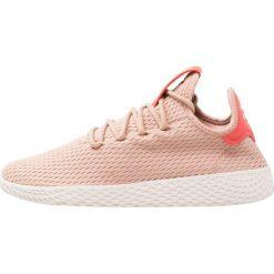 Adidas Originals PW TENNIS HU Tenisówki i Trampki ash pearl. Brązowe trampki chłopięce marki adidas Originals, z materiału. Za 399,00 zł.