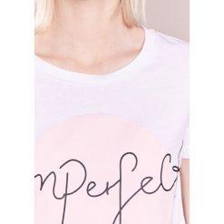 T-shirty damskie: Bruuns Bazaar CLEO PRINT TEE Tshirt z nadrukiem pink dogwood