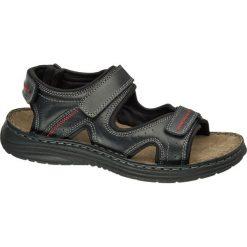 Sandały damskie: sandały męskie Claudio Conti czarne