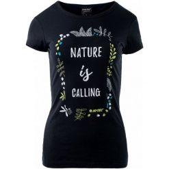 Hi-Tec Koszulka Lady Insight Black M. Czarne bluzki sportowe damskie Hi-tec, m, z nadrukiem. W wyprzedaży za 25,00 zł.