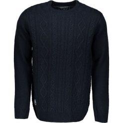 """Swetry klasyczne męskie: Sweter """"Koby"""" w kolorze granatowym"""