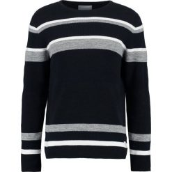 Swetry klasyczne męskie: Jack & Jones JCOBROKE CREW NECK Sweter dark blue