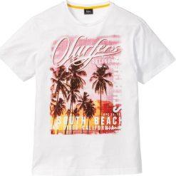 T-shirty męskie z nadrukiem: T-shirt z fotodrukiem Regular Fit bonprix biały