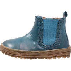 Naturino STORM Botki jeans. Niebieskie botki damskie skórzane Naturino. W wyprzedaży za 259,35 zł.
