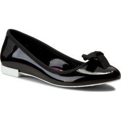 Baleriny damskie lakierowane: Baleriny LEMON JELLY  – Bow 01 Black/White
