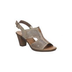 Rzymianki damskie: Sandały Rieker  Sandały ażurowe  64151-62
