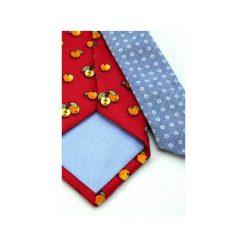 IT-023 Krawat jedwabny MILANO. Czerwone krawaty męskie marki Reserved. Za 200,00 zł.