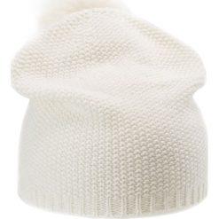 Johnstons Cashmere GLITTER  Czapka ecru silver. Białe czapki damskie Johnstons Cashmere, z kaszmiru. Za 629,00 zł.