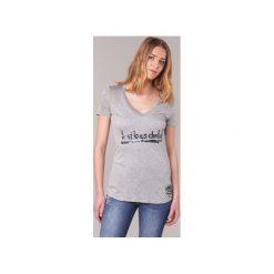 T-shirty z krótkim rękawem Desigual  TEDEROA. Szare t-shirty damskie Desigual, l. Za 161,85 zł.