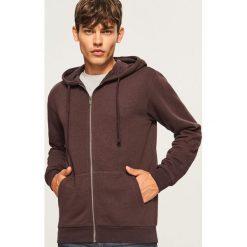 Bluza z kapturem - Brązowy. Szare bluzy męskie rozpinane marki TARMAK, m, z bawełny, z kapturem. Za 79,99 zł.