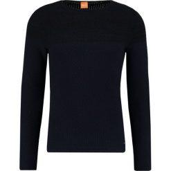 Swetry klasyczne męskie: BOSS Orange KWENYS Sweter dark blue