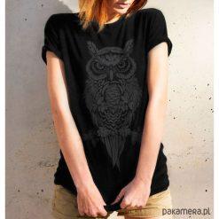 Koszulka damska - PUCHACZ ZWYCZAJNY. Różowe bluzki damskie Pakamera, z motywem zwierzęcym. Za 99,00 zł.