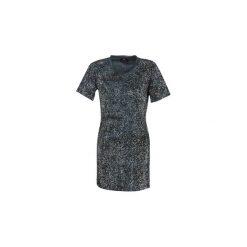 Sukienki krótkie Diesel  D ARY. Szare sukienki mini Diesel, l, z krótkim rękawem. Za 789,00 zł.