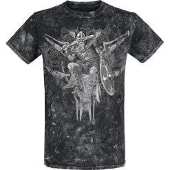 T-shirty męskie z nadrukiem: King T-Shirt czarny