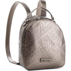 Plecak LOVE MOSCHINO - JC4036PP16LF0910  Peltro. Szare plecaki damskie Love Moschino, ze skóry ekologicznej. W wyprzedaży za 589,00 zł.