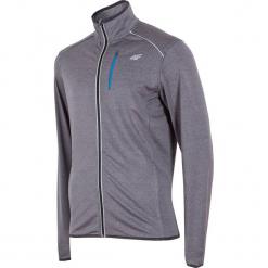 Męska bluza sportowa 4F Termo Dry. Szare bluzy męskie rozpinane Astratex, m, ze skóry. Za 107,39 zł.