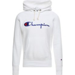 Champion Reverse Weave HOODED Bluza z kapturem white. Białe bluzy męskie rozpinane Champion Reverse Weave, m, z bawełny, z kapturem. Za 399,00 zł.