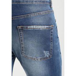 Mennace CORDOZA DISTRESSED Jeans Skinny Fit blue. Niebieskie rurki męskie Mennace. Za 229,00 zł.