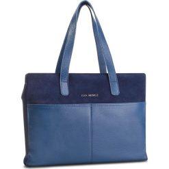 Torebka EVA MINGE - Olvera 4N 18NN1372666EF 607. Niebieskie torebki klasyczne damskie marki Eva Minge, ze skóry. W wyprzedaży za 429,00 zł.