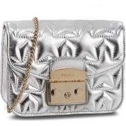 Torebka FURLA - Metropolis 985967 B BUE7 NMP Color Silver. Szare torebki klasyczne damskie marki Furla, ze skóry. Za 1520,00 zł.