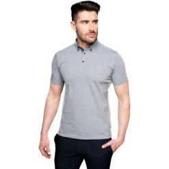 Koszulki polo: koszulka polo becker szary