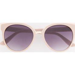 Okulary przeciwsłoneczne - Różowy. Czerwone okulary przeciwsłoneczne damskie aviatory Reserved. Za 39,99 zł.