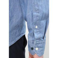 Eton SLIM FIT Koszula blue denim. Białe koszule męskie slim marki Eton, m, z bawełny. Za 699,00 zł.