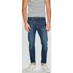 Levi's - Jeansy 512. Brązowe jeansy męskie slim marki Levi's®, z bawełny. W wyprzedaży za 319,90 zł.