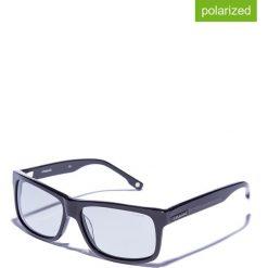 Okulary przeciwsłoneczne męskie lustrzane: Okulary męskie w kolorze czarnym